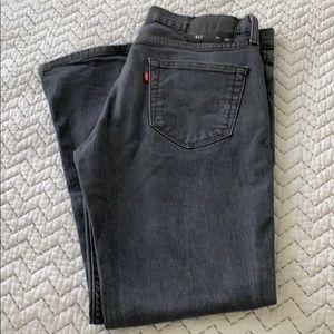 Levi's Men's 511  34x30 Dark Grey Jeans